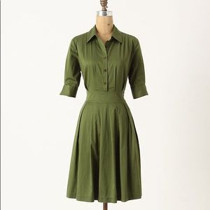 Anthropologie Lili's closet Ihrin Shirtdress 10